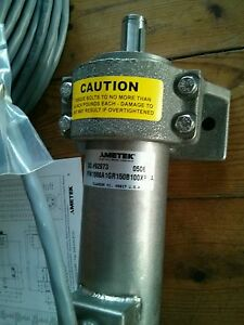 Ametek 1986 Stainless Resolver W Gear Head Potted Pigtail 1986a1gr150b100xpsa