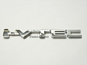 I Vtec Ivtec Chrome Emblem Logo Badge Decal For Honda Civic Accord Si Fit New