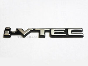 I Vtec Ivtec Black Emblem Sticker Logo Badge For Honda Civic Si Accord Fit New