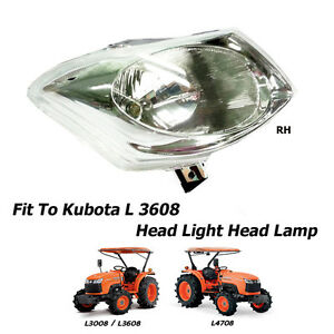 Use For Kubota Tractor L3008 3608 L4708 Head Light Head Lamp Assembly 1 Pc