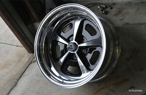 17x 8 Magnum Ar 500 Chevelle Ford Dodge Mopar Chevy American Racing Wheel