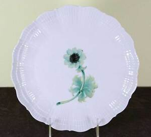 Collector S Cabinet Plate Rocaille With Green An Mone