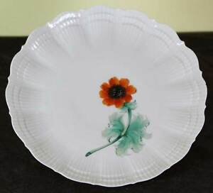 Collector S Cabinet Plate With Orange An Mone