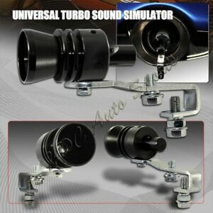 L Size Bk Fake Turbo Sound Exhaust Blow Off Valve Simulator Whistler Universal 5
