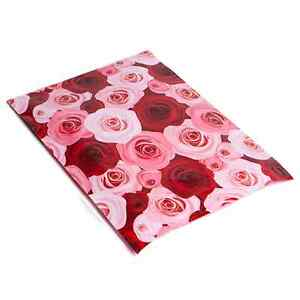 1000 10x13 Pink Red Roses Designer Mailers Poly Shipping Envelopes Boutique