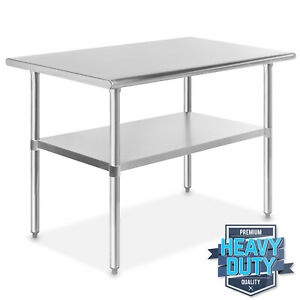 Stainless Steel 30 X 48 Nsf Commercial Kitchen Work Food Prep Table