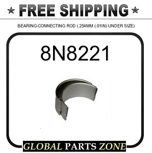 8n8221 Bearing Connecting Rod 254mm 01in Under Size 2s0502 7w2136 8n5337