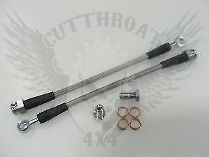 Stainless Steel Brake Lines For Disc Brake Conversions