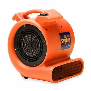 Soleaire Max Storm 1 2 Hp Air Mover Carpet Dryer Blower Floor Fan Janitorial