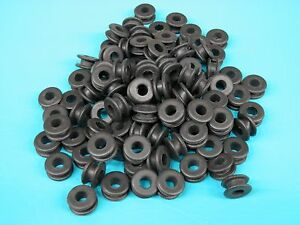 100 Pc 3 8 Rubber Grommets 1 4 Id Firewall Hole Plug Set Electrical Wire Gasket