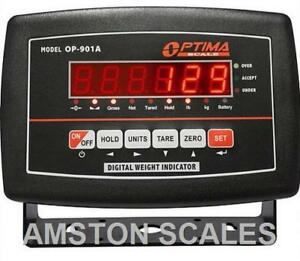 Digital Scale Led Display Head Monitor Read Out Indicator Load Cell Animal Floor