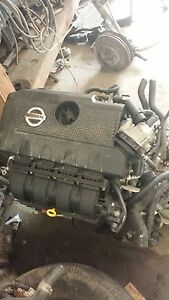 2013 Nissan Sentra Engine And Transmission