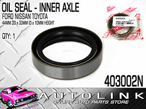 Front Inner Axle Oil Seal For Nissan Patrol 87 95 Gq Y60 4 2l Wagon Carb