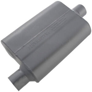 Flowmaster 40 Series Muffler 2 5 Offset In Center Out 13 Long 10 Wide