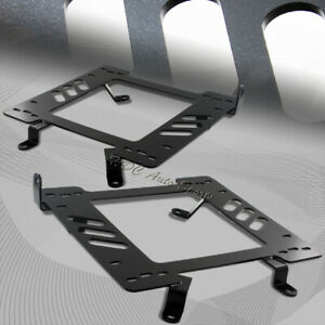 For 1999 2004 Ford Mustang V6 V8 Plant Steel Racing Seat Mount Bracket Adapters