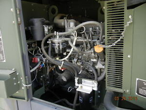 Mep 804b 15kw Generator Yanmar Turbo Diesel 800 Hours 1 3 Phase Military