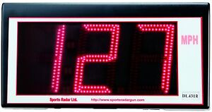 Sports Radar 3 Digit Red Led 4 Display Dl431 r