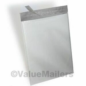 4000 7 5x10 5 Vm Brand 2 Mil Poly Mailers Self Seal Plastic Bags Envelopes 100