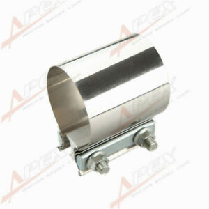 4 Stainless Steel 4 Inch Exhaust Flat Band Clamp Us