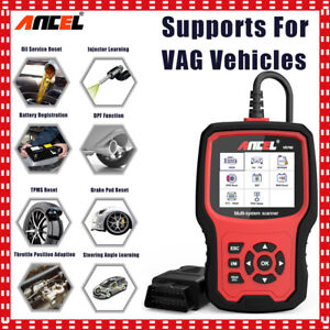 Launch Cr619 Abs Airbag Srs Diagnostic Scan Tool Obd2 Code Reader Scanner