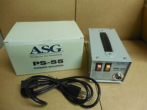 New Asg Dc Power Supply Ps 55 110 230v Volt 78va 20 30vdc 2 5a A Amp Ps55