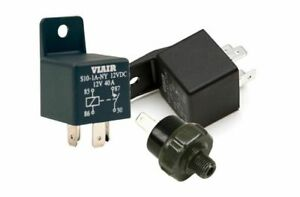 Viair Air Horn Compressor Pressure Switch Kit 2ct 12v 40a Relay 165 200 Psi