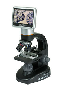 Celestron Tetraview Powerful Lcd Digital Microscope 1600x Magnification