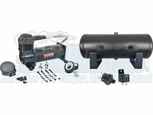 Viair 444 Black Compressor With 2 Gal Tank Free 200 Psi Pressure Switch Relay