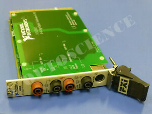 National Instruments Ni Pxi 4060 Digital Multimeter Card 5 1 2 Digit Dmm