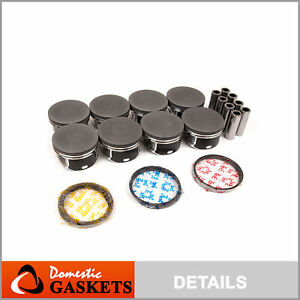 Fit For 03 08 Dodge Ram Chrysler Jeep 5 7l Hemi Ohv Pistons Rings Set