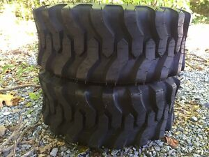 2 New 23x8 50 14 R4 Tractor Tires 23x8 5 14 carlisle Trac Chief 51s388