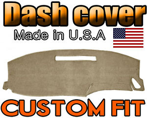 Fits 2000 2006 Chevrolet Monte Carlo Dash Cover Dashboard Mat Beige