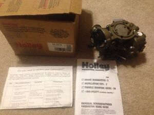 Holley Reman Carburetor 64 2574 Ford Single Barrel Single Inlet Carter Yfa