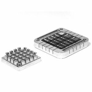 New Update 1 2 Square French Fry Cutter Plunger Pusher Block Set Xffc 50b