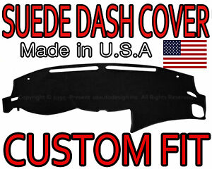 Fits 2013 2018 Nissan Altima Suede Dash Cover Mat Dashboard Pad Black
