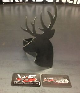 Deer Hitch Cover 1 8 Steel Tow Towing Reese Custom Buck Hunting Hunter