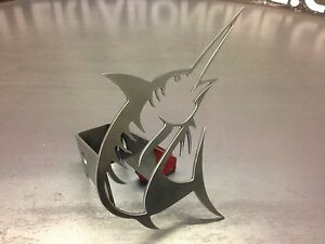 Marlin Hitch Cover 1 8 Steel Tow Towing Reese Custom Truck Fishing Fish