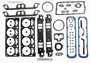 98 03 Dodge 360 5 9l 16v Gasket Set Head