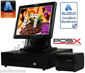 Aldelo Pro Pos x Steakhouses Restaurant All in one Complete Pos System New