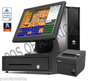 Aldelo Pro Kit Pizza Restaurant Bar Bakery Complete Value Pos I3 System New