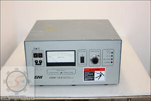 Oem 12a am 1250w 13 56 Mhz Rf Generator Water Cooled Eni