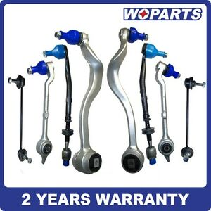 Front Control Arms Tie Rod Ends Sway Bar Links Kit Fit For Bmw E39 520i 525i 8