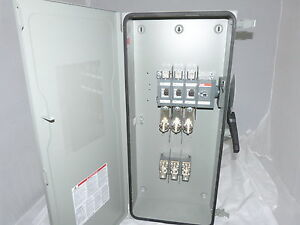 Abb Safety Switch 3p 200a 600v Fusible Heavy Duty N1 Eoh364k New