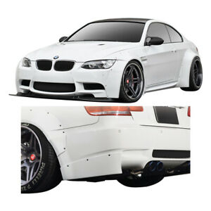 Duraflex E92 E93 Circuit Wide Body Kit 8 Piece For M3 Bmw 08 13 Ed112603