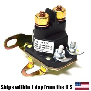 Relay Solenoid For Western Fisher Meyers Snowplows Universal 4 Post Snow Plow