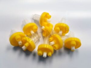 150 Pcs Yellow Dental Dynamic Mixing Tips Machine Heraeus Kulzer Kerr Zhermack