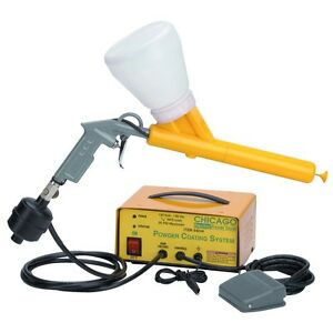 10 30 Psi Powder Coating Gun System With Voltage Converter We Ship International