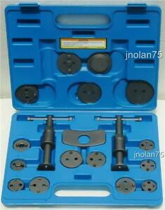 18 Piece Caliper Brake Piston Tool Kit Disc Brakes Rewind Wind Back Service Set