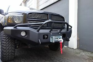 2006 2008 Dodge 1500 Winch Ready Bump W Pre Runner Brushguard