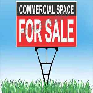 18 x24 Commercial Space For Sale Outdoor Yard Sign Stake Lawn Real Estate